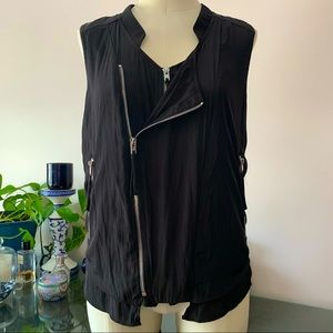 Witchery zippered muscle top